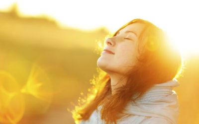 幸福倚靠耶和華
