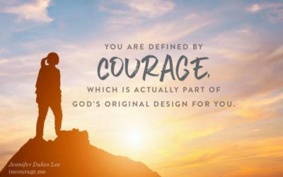 祂賜給我勇氣